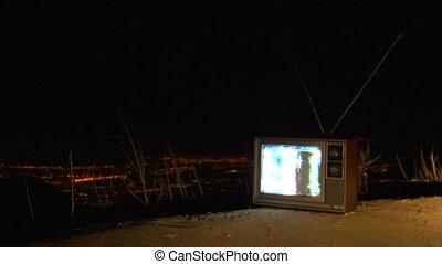 TV reststop night ws