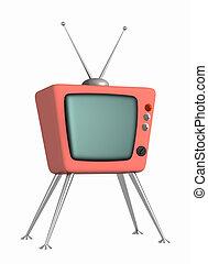 tv, retro