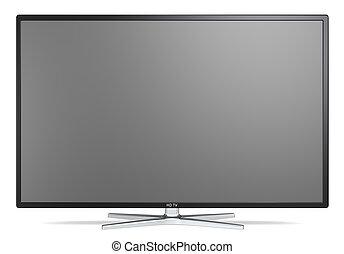 tv, screen.
