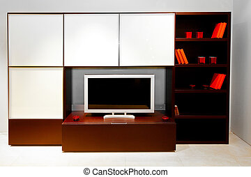 TV set - Modern centre piece for living room with a space ...
