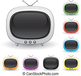tv-set, retro