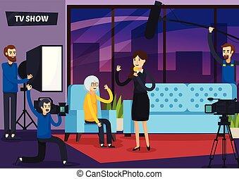 TV Show Orthogonal Composition - Tv show orthogonal...