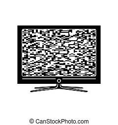 Tv simple icon