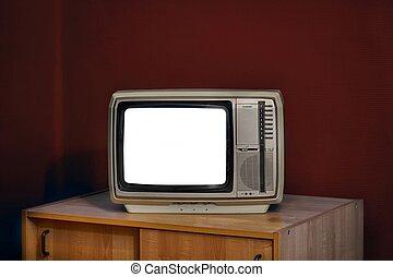 tv, sinal, não