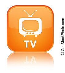 TV special orange square button