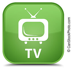 TV special soft green square button
