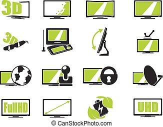 tv, specifications, ベクトル, 特徴