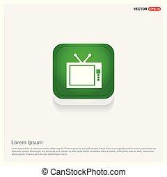 tv, tã©lã©viseur, icône