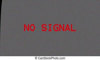 tv, tã©lã©viseur, non, signal., screen.