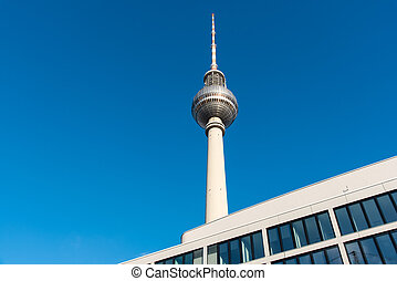 TV Tower and modern building