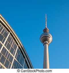 Tv tower Berlin - Television tower in Berlin