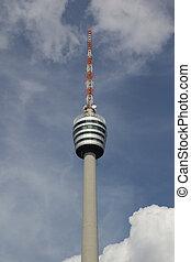 TV Tower Building in Stuttgart, Germany.