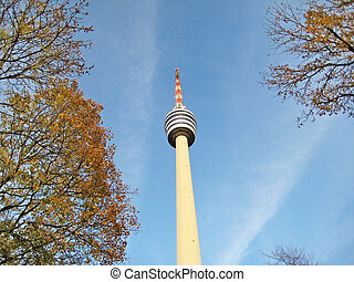 TV Tower Building in Stuttgart, Germany