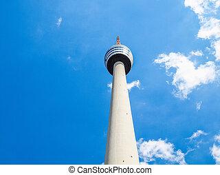 TV tower in Stuttgart HDR