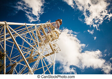 TV tower nobody water building urban