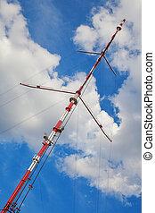TV tower  - TV tower, antenna translator again sky