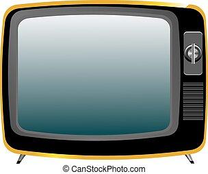 tv, vecchio