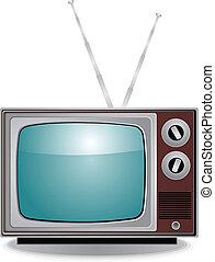 tv, vieux