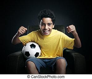 tv, világ, futball, csésze