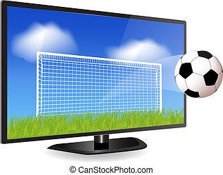 tv, voetbal, smart
