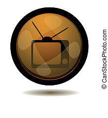 TV web button