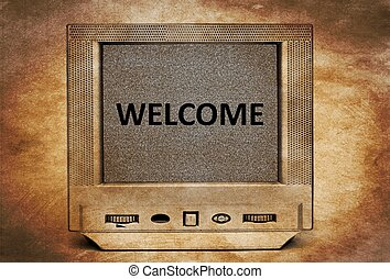 TV welcome
