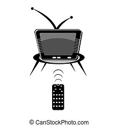 tv with remote