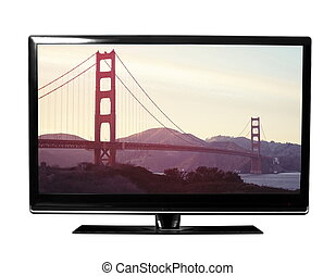 TV with the picture