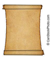tvinde, pergament
