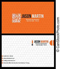 tvořivý, business card
