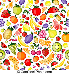 twój, modelujcie zamiar, seamless, owoce