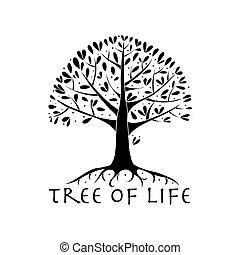 twój, podstawy, drzewo, projektować