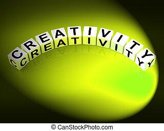 twórczość, beletrystyka, podły, pomysłowość, natchnienie, i, pojęcia