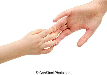 twee handen
