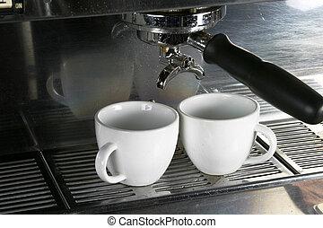 twee, koppen espresso