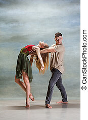 twee mensen, dancing