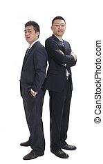 twee, zakenmens