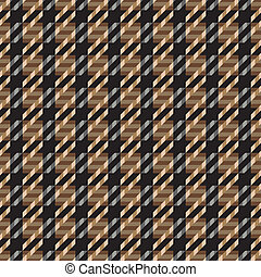 Tweed Texture_Brown - Seamless tweed texture pattern in...