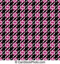 Tweed Texture_Magenta - Seamless tweed texture pattern in...