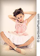 Tween Girl with Schizophrenia Disorder