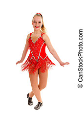 Tween Jazz Dancer in Rend - A 12 year old Jazz dancer in her...
