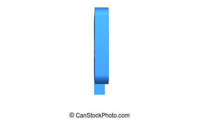 Tweet Speech Bubble Rotating Constant Speed With Alpha -...