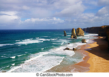 twelve apostles - beautiful 12 apostles in Australia