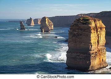 twelve apostles - Twelve Apostles on Great Ocean Road,...