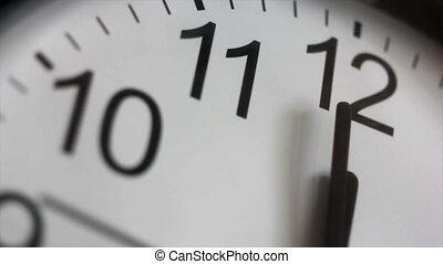 Twelve o`clock.