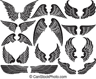 wings clipart and stock illustrations 295 211 wings vector eps rh canstockphoto com clipart wings angel clipart wings free