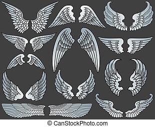 Angel Wings - Twelve Sets of Angel Wings