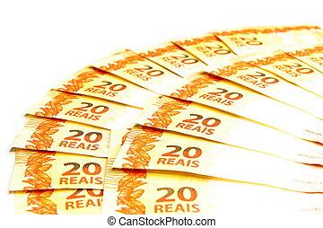 Twenty Brazilian Real