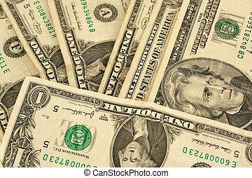 Twenty Dollar Bill and Wallet