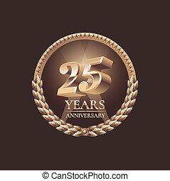 Twenty five years anniversary celeb